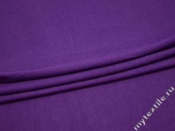 Трикотаж фиолетовый вискоза хлопок АЕ79