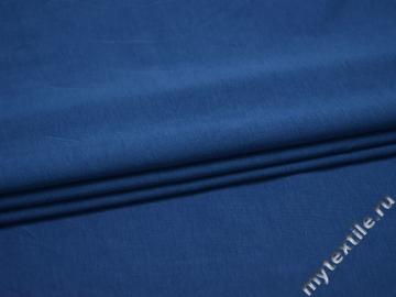 Трикотаж синий хлопок АЕ76