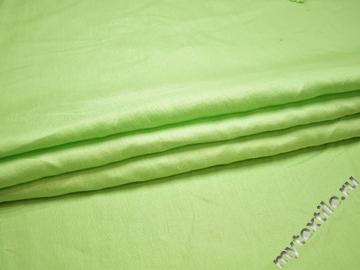 Вискоза салатового цвета БА447