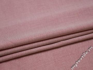 Вискоза розового цвета зигзаг БВ217