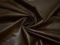 Кожзаменитель коричневого цвета хлопок полиэстер ГЕ297