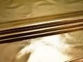 Кожзаменитель золотого цвета хлопок полиэстер ГЕ2106