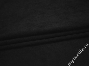 Замша черная полиэстер ГЕ378
