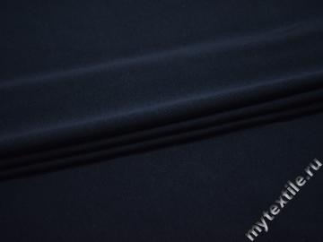 Трикотаж синий вискоза АЕ548