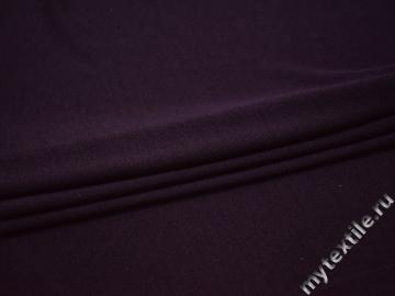 Трикотаж фиолетовый полиэстер АЕ514