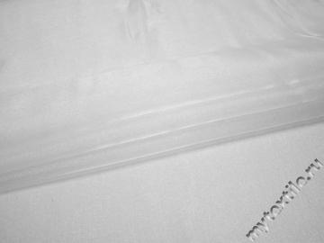 Органза белого цвета полиэстер ГВ629