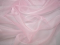 Органза розового цвета полиэстер ГВ642