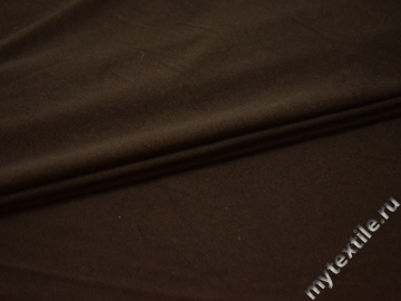 Трикотаж коричневый хлопок АВ718