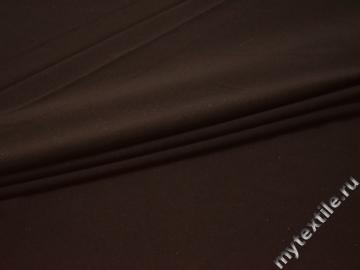Трикотаж коричневый полиэстер АВ743