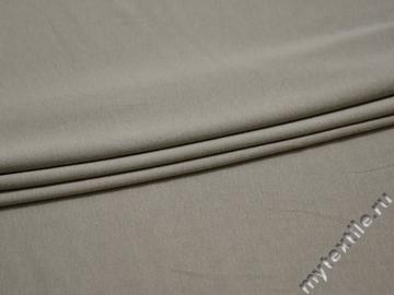 Трикотаж серый вискоза хлопок АВ766