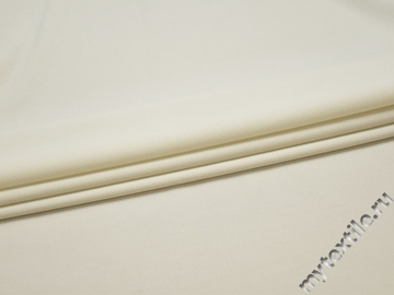Костюмная молочная ткань вискоза полиэстер БГ455