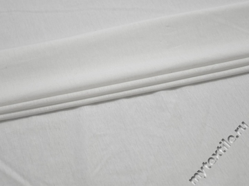 Трикотаж белый вискоза хлопок АЁ128