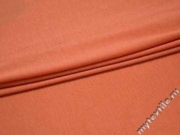 Трикотаж оранжевый вискоза хлопок АЁ14