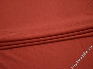 Трикотаж красный вискоза хлопок АЕ132