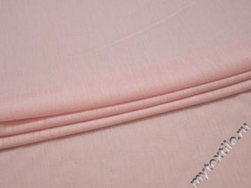 Трикотаж розовый шерсть полиэстер АЕ112