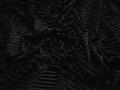 Бархат-стрейч черный полиэстер ГВ278