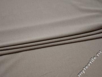 Трикотаж серый шёлк хлопок полиэстер АД134