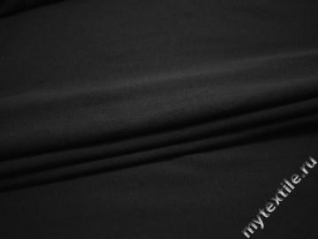 Трикотаж тёмно-серый хлопок полиэстер АД17