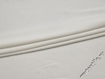 Трикотаж белый хлопок АК646