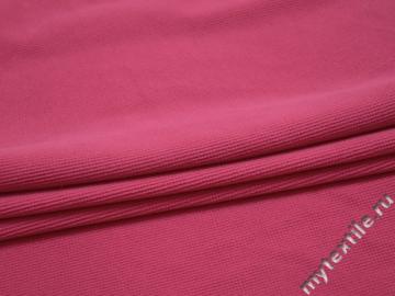 Трикотаж розовый полиэстер АК533