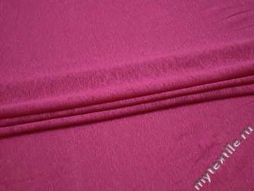 Трикотаж розовый вискоза хлопок АК526