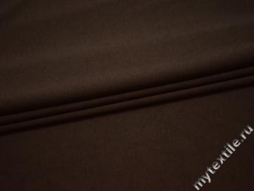 Трикотаж коричневый полиэстер АГ121