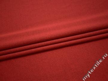 Трикотаж красный полиэстер АГ12