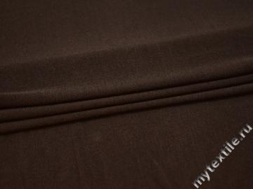 Трикотаж коричневый вискоза хлопок АД549