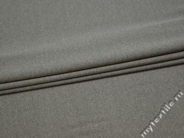 Трикотаж серый полиэстер АД544