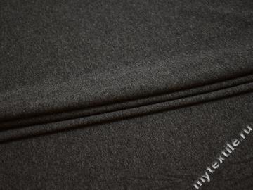 Трикотаж серый хлопок полиэстер АД531
