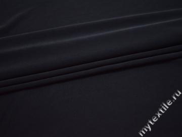 Трикотаж синий полиэстер АД529
