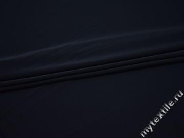Трикотаж синий полиэстер АД51