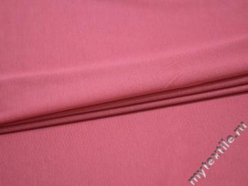 Трикотаж розовый вискоза хлопок АЁ414