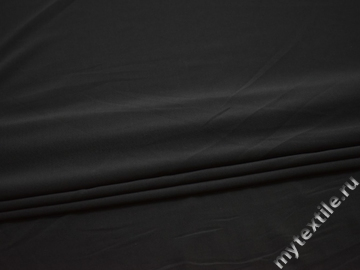 Трикотаж тёмно-серый полиэстер АМ17