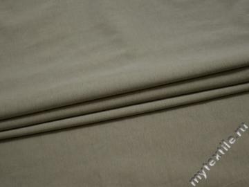 Трикотаж оливковый хлопок АМ510