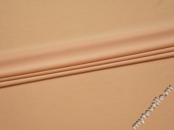 Трикотаж персиковый полиэстер АМ322