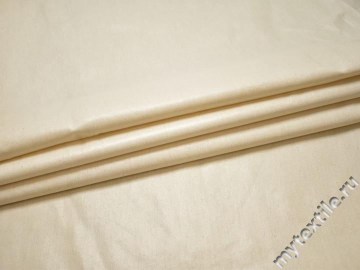 Плащевая молочная ткань хлопок полиэстер БЕ328