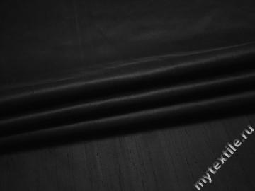 Шёлк черного цвета ЕБ220