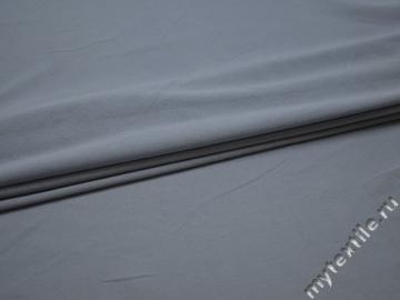 Трикотаж голубой полиэстер АМ623