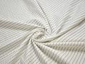 Рубашечная молочная синяя ткань геометрия хлопок ЕБ294