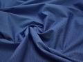 Рубашечная синяя черная ткань геометрия хлопок ЕБ284