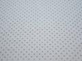 Рубашечная голубая синяя ткань геометрия хлопок ЕБ275