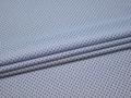 Рубашечная голубая синяя ткань круги хлопок ЕБ267