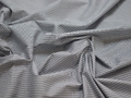 Рубашечная синяя белая ткань геометрия хлопок ЕБ231