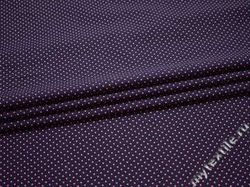 Рубашечная синяя красная ткань геометрия хлопок ЕБ224