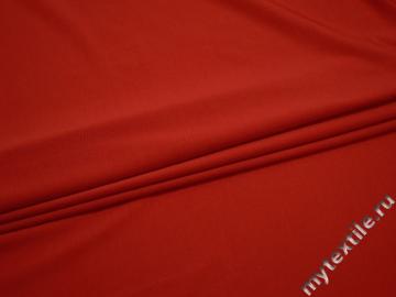 Трикотаж красный полиэстер АЛ514