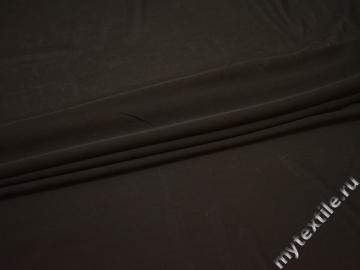 Трикотаж серо-коричневый полиэстер АЛ57