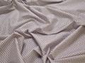 Рубашечная белая бордовая ткань геометрия хлопок эластан ЕА335