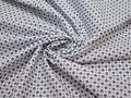 Рубашечная голубая синяя ткань геометрия хлопок ЕА339