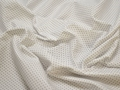 Рубашечная белая ткань геометрия хлопок ЕА340